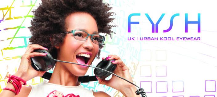 Fysh eyeglasses banner